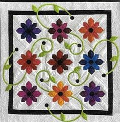 This is for the PATTERN ONLY.  This is a little quilt with a big impact! Perfect…