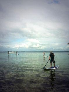Great day of paddle boarding, kayaking and snorkeling @leleuviaisland with @SD63Stellys   #GVI #Fiji #AdventureWeek