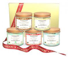 #Giveaway Alert:: Ayurveda Pura Herbal Tea Gift Set | The Detox Diva