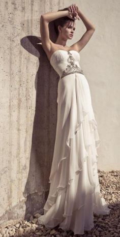 for beach wedding dress