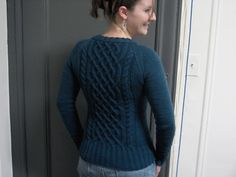 Ravelry: Jess' Birthday Sweater pattern by Emily Wright