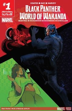 Marvel's Solicitations Are Here, But Where Is Black Panther: World Of Wakanda?
