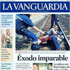 Reto 7. Fotonoticia publicada en el periódico La Vaguardia. #RetoVisual0911 #CA0911