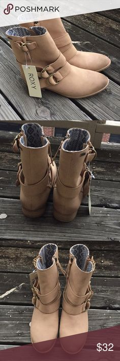 Roxy Bixby Boots NWT Brushed Faux Suede Bixby Boot by ROXY There are a few markings in pic... prob cause they came without the box! Roxy Shoes Ankle Boots & Booties