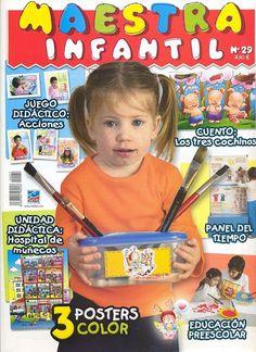 Revista Maestra Infantil Nº 29 - Srta Lalyta - Álbuns Web Picasa Ideas Para, Montessori, Vocabulary, Diy And Crafts, Kindergarten, Album, Baseball Cards, Education, Reading