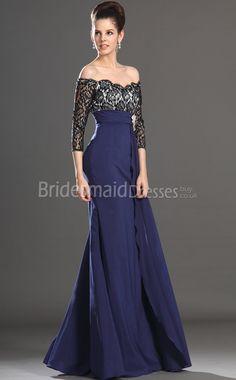3/4 sleeve blue lace dress - Google Search