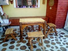 Homemade, Wood, Table, Furniture, Home Decor, Decoration Home, Woodwind Instrument, Room Decor, Timber Wood