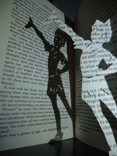 Peter Pan Book Art -- don't forget your shadow!