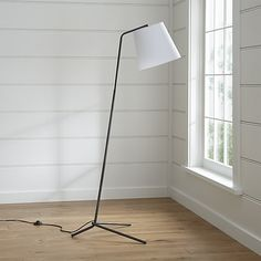 Angle Pewter Floor Lamp - Crate and Barrel Decor, Desert Living Room, Lamp, Floor Lamp Grey, Crate And Barrel, Room Inspiration, Floor Lamp, Flooring, Stand Light