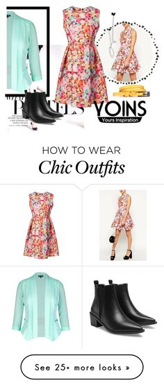"""Daily Trend Setter"" by celiva207 on Polyvore featuring City Chic and plus size clothing"