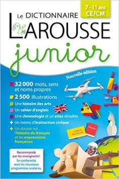 Amazon.fr - Larousse dictionnaire Junior 7/11 ans - Collectif - Livres