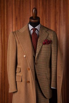 Tweed + Vicuna at Sartoria Luigi Dalcuore, Napoli