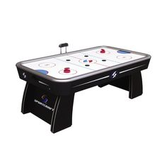 7 Ft. Air Hockey Table: Electronic Scoring For Fast, Fun Games   Sears