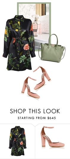 """""""lovelyhard"""" by namelif on Polyvore featuring Lenox, Tabitha Simmons, Valentino, women's clothing, women, female, woman, misses and juniors"""