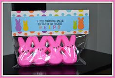 Itsy Bitsy Paper: . . . Peeps Treat Topper Download . . .