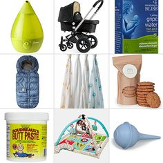 """PopSugar Mom's Favorite Baby gear.  SOOO many suggestions, most are expensive, but some new """"essentials"""" I hadn't thought of"""