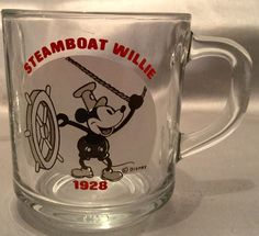 Anchor Hocking Glass Coffee Mugs Steamboat Willie, Glass Coffee Mugs, Anchor Hocking, Beer, Trends, Tableware, Root Beer, Dinnerware, Dishes