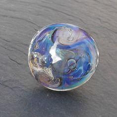 Bague réglable en verre de murano bag.1089