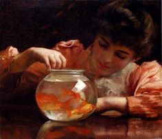 <>< goldfish