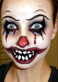 22 beste afbeeldingen van clown schminken  carnaval