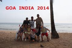 66. Goa India. Hot wekend in Bogmalo beach.