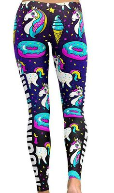 New 2018 Unicorn Leggings Available In S-4X