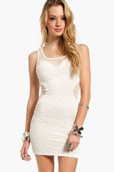 So Meshy Inset Dress