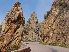 Road, Corse