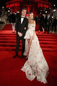 James Cook and Poppy Delevingne - Fashion Awards - 04/12/2017