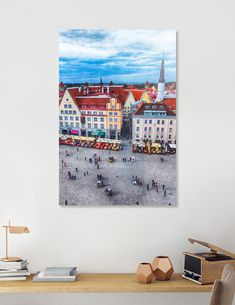 Discover «Tallinn art 10», Numbered Edition Aluminum Print by Justyna Jaszke - From $59 - Curioos