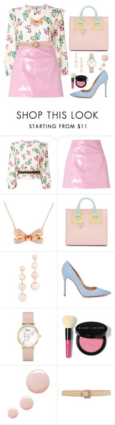 """""""Senza titolo #534"""" by mariapiamatt ❤ liked on Polyvore featuring RED Valentino, Miss Selfridge, Ted Baker, Sophie Hulme, Rebecca Minkoff, Gianvito Rossi, CLUSE, Bobbi Brown Cosmetics, Topshop and Etro"""