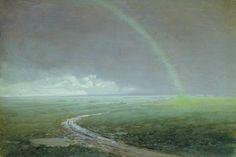 Архип Иванович Куинджи (1841-1910) Радуга. 1900-е. Этюд Таганрогский художественный музей