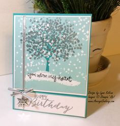 sheltering tree stampin up | Sneak Peak – Sheltering Tree - Stamping with Avery's Owlery