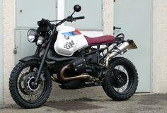 Another fine looking #BMW scrambler custom bike
