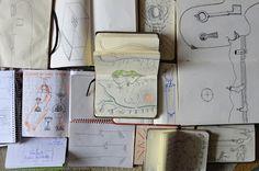 OBRA PLÁSTICO GRÁFICA Joseba García Plazuelo: Cuadernos