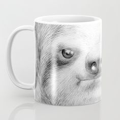 Sloth Mug by Eric Fan   Society6