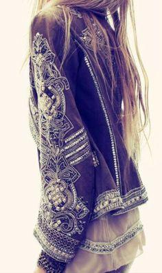 Boho style. this jacket... <3