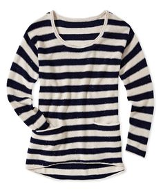 Spring 2013 Collection  Sequin striped sweater