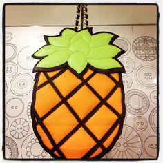 Photo by calvinleecalvin #moschino #pineapple #bag #mymoschino