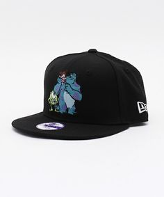 ONSPOTZ KIDS(オンスポッツ キッズ)のNEWERA×MONSTERS INC KIDS 9FIFTY SNAPBACK CAP FRIENDS BLACK(キャップ)|ブラック