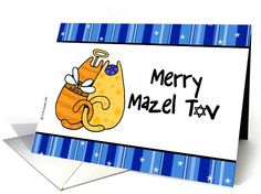 interfaith holiday - merry mazel tov | Greeting Card Universe by Corrie Kuipers