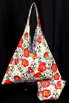 Day of the Dead Sack Totes | House Of Minerva