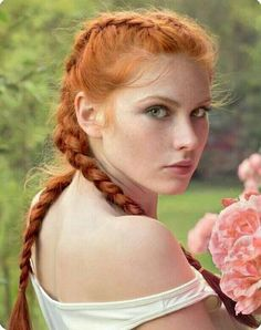 A Shrine To Redheads: Photo Women With Freckles, Medieval Hairstyles, Red Heads Women, Stunning Redhead, Red Hair Woman, Redheads Freckles, Rides Front, Red Hair Don't Care, Redhead Girl