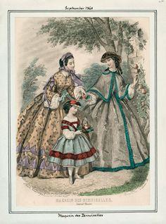 September, 1861 - Magasin des Demoiselles