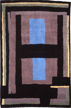 The Omega Workshop  Hand-knotted weave  Hand-spun Anatolian wool and mohair  2.2 x 3.3 m, limited edition of 15  Christopher Farr