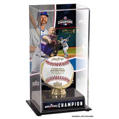 David Ross Chicago Cubs Fanatics Authentic 2016 MLB World Series Champions Gold Glove Display Case with Image - $49.99