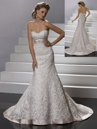 """Sottero and Midgley """"In Stock"""" Wedding Dress - Style Katharine VSM7097    love the texture"""
