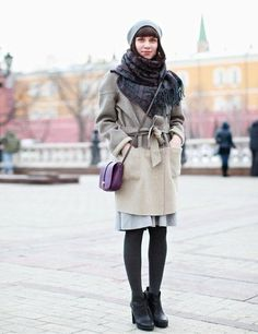 Moscow Fashion Week Street Style | ELLE UK