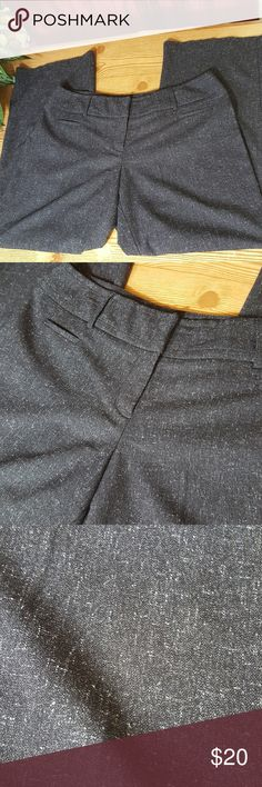 "Apt. 9 Curvy Fit Wide Leg Trouser 16 Excellent used condition. Gray wide leg trouser. Curvy fit. Size 16. 36"" waist, 10"" rise, 31"" inseam. All measurements are approximate. Apt. 9 Pants Trousers"