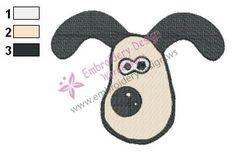 Bitzer Dog Shaun The Sheep Embroidery Design